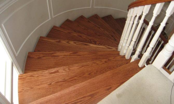 Curved Staircase Wainscoting