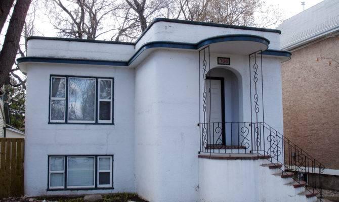 Curvy House Art Deco Architecture Streamline Moderne Artdeco Canada