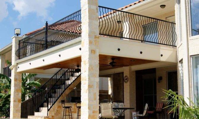 Custom Balconies Railings Houston Dallas Katy Texas