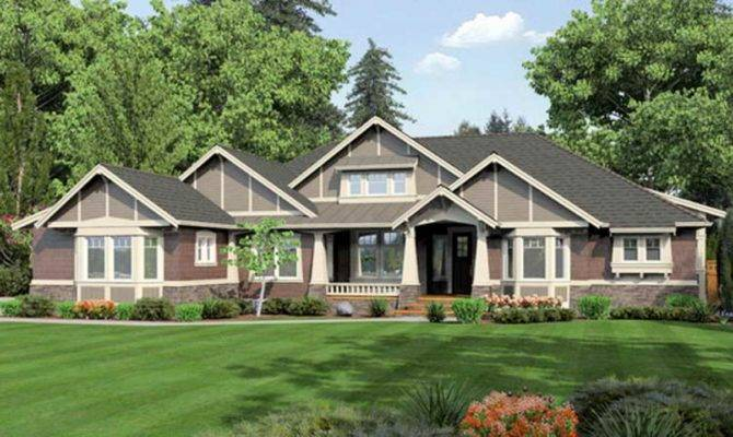 Custom Craftsman Homes One Story Best
