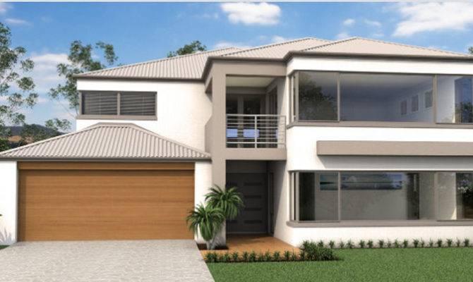 Custom Double Storey House Designs Mcmanus Builders