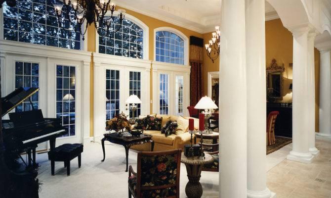 Custom Great Room Photographs Drawn Studer Residential