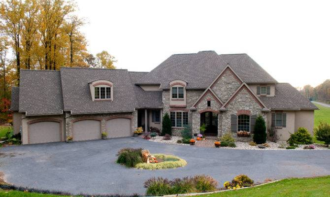 Custom Home French Country Classic Traditional