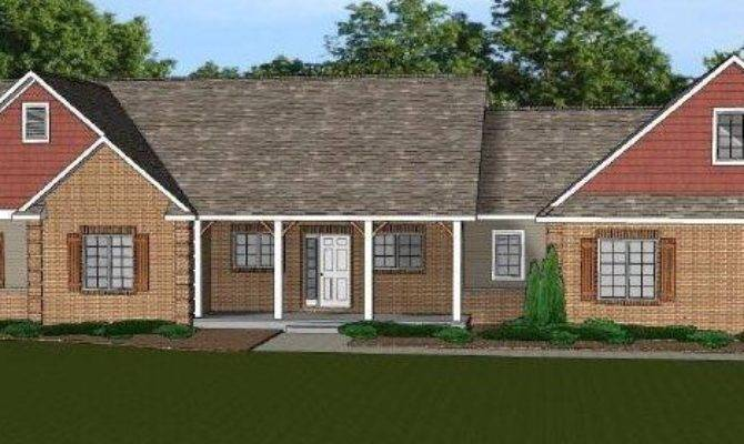 Custom Home House Plan Ranch Basement