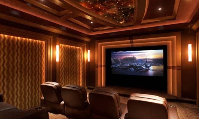 Custom Home Theater Rooms Media Room Design