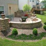 Custom Patio Walk Out Finished Basement Built Grill