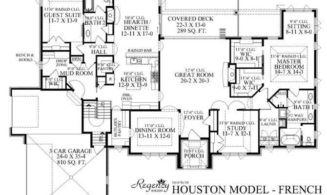Custom Ranch House Plans Home Floor