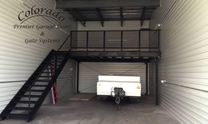 Custom Steel Garage Loft Denver Door Repair