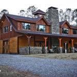 Custom Timber Frame Barn Home Newnan Georgia Building