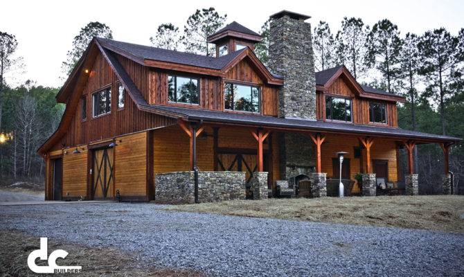 Custom Timber Frame Barn Home Newnan Georgia Building