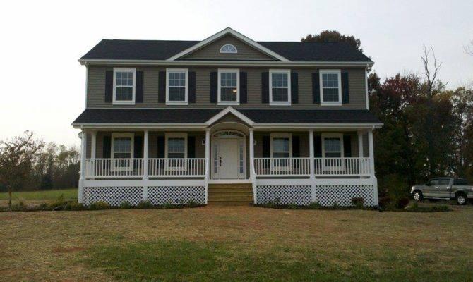 Custom Two Story Modular Home Sales Virginia