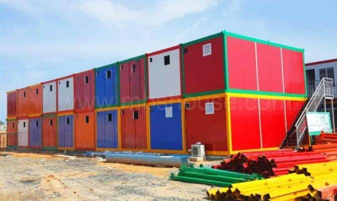 Customized Prefab Detachable Container House Work Camp