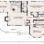 Cute Cottage Floor Plan Plans Loft
