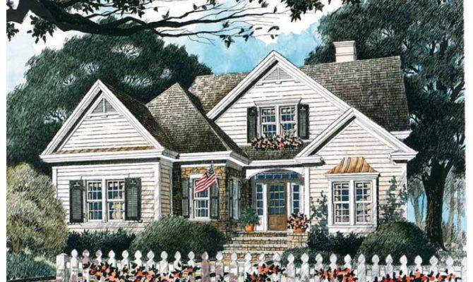 Cute Cottage Hwbdo Builderhouseplans