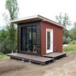 Cute Modern Tiny House Design Hikari Box Exterior