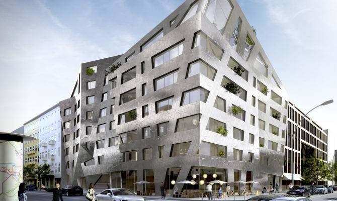 Daniel Libeskind Designs Apartment Building Berlin