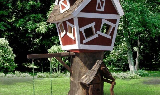 Daniels Wood Land Original Tree Playhouse Swingsetmall