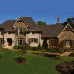 Darby Hill European Style Home Plan House Plans More
