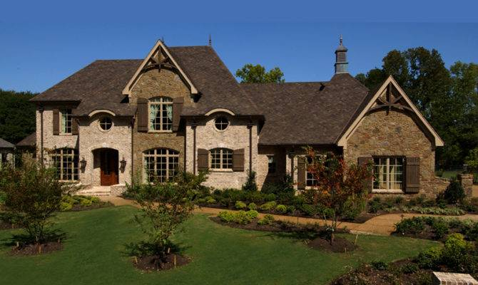 Darby Hill European Style Home Plan House