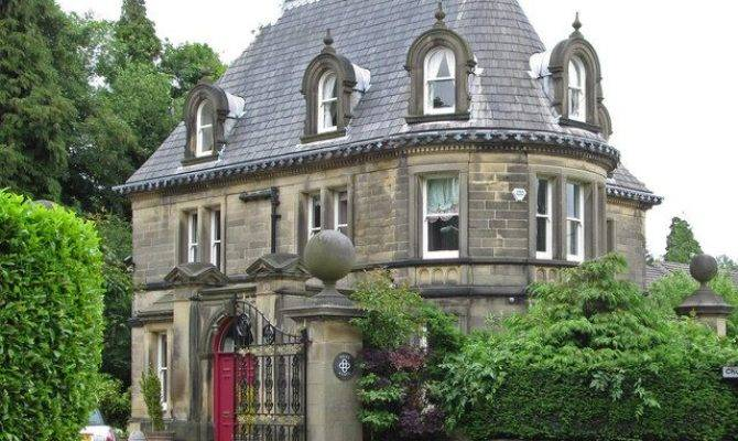 Darley Dale England Victorian Stone House West Lodge