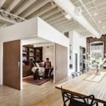 Days Ago Contemporary House Loft Home Design Dangermond Keane
