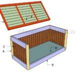 Deck Box Plans Howtospecialist Build Step Diy