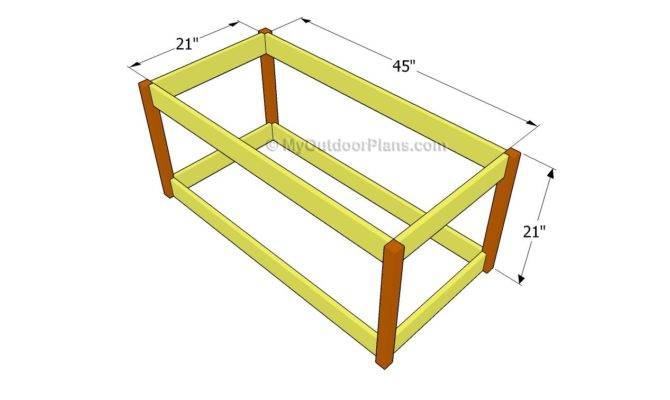 Deck Box Plans Outdoor Diy Shed Wooden Playhouse Bbq