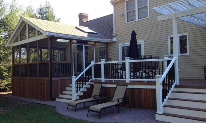 Deck Design Ideas Screened Porch Archadeck