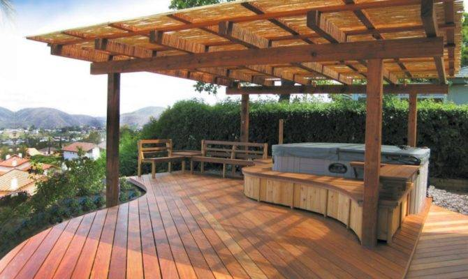 Deck Designs Ideas Outdoor Design Landscaping