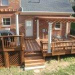 Deck Pergola Diy Projects Decks Pergolas Pinterest
