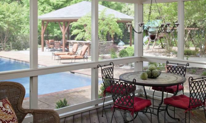 Deck Pergola Porch Designs Pools Louis