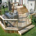 Deck Plan Large Mid Height Two Level Smaller