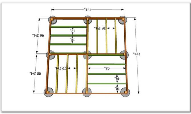 Awesome 16 Images 12 X 20 Deck Plans