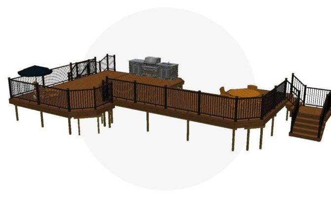 Deck Plans Design Ideas Fiberon
