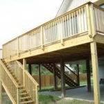 Deck Plans Elevated Door