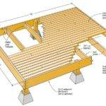Deck Plans Pinterest Two Level Low Designs Above