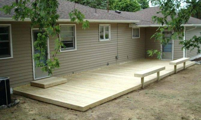Deck Plans Stairs Home