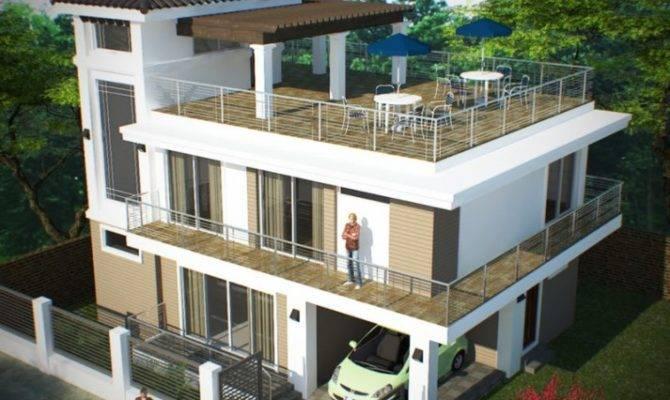 Deck Roof Plans Design House Cathy Chapman