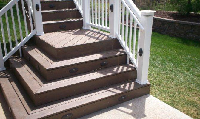 Deck Stairs Landings Louis Decks Screened