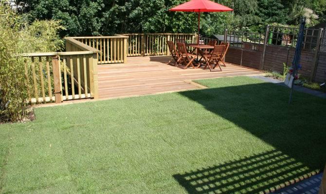 Decking Design Ideas Sloping Garden Agi Landscapes