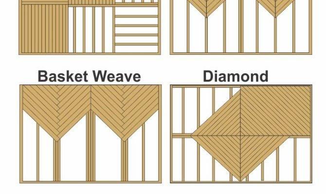 Decking Patterns Contractor Decks Pinterest