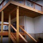 Decks Two Story Multilevel Louis Screened