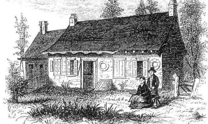 Declark Wint House Tappan Rockland County Illustration