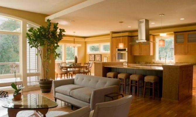 Decorate Open Floor Plan