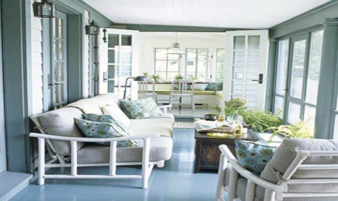 Decorated Enclosed Porches