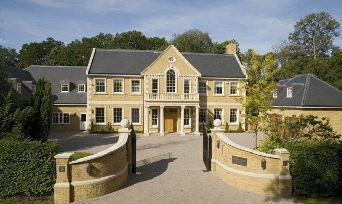 Decorative Big Posh Houses Home Building Plans