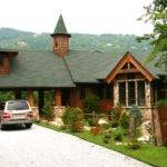 Decorative Rustic Lodge Style House Plans Design