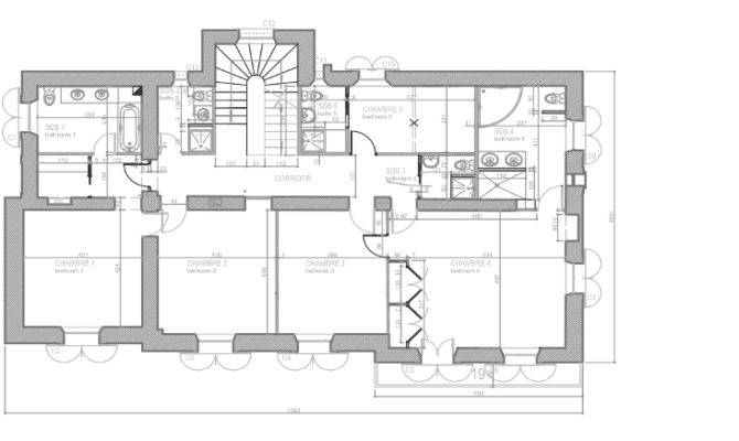 Decormentor Master Ensuite Floor Plans Two