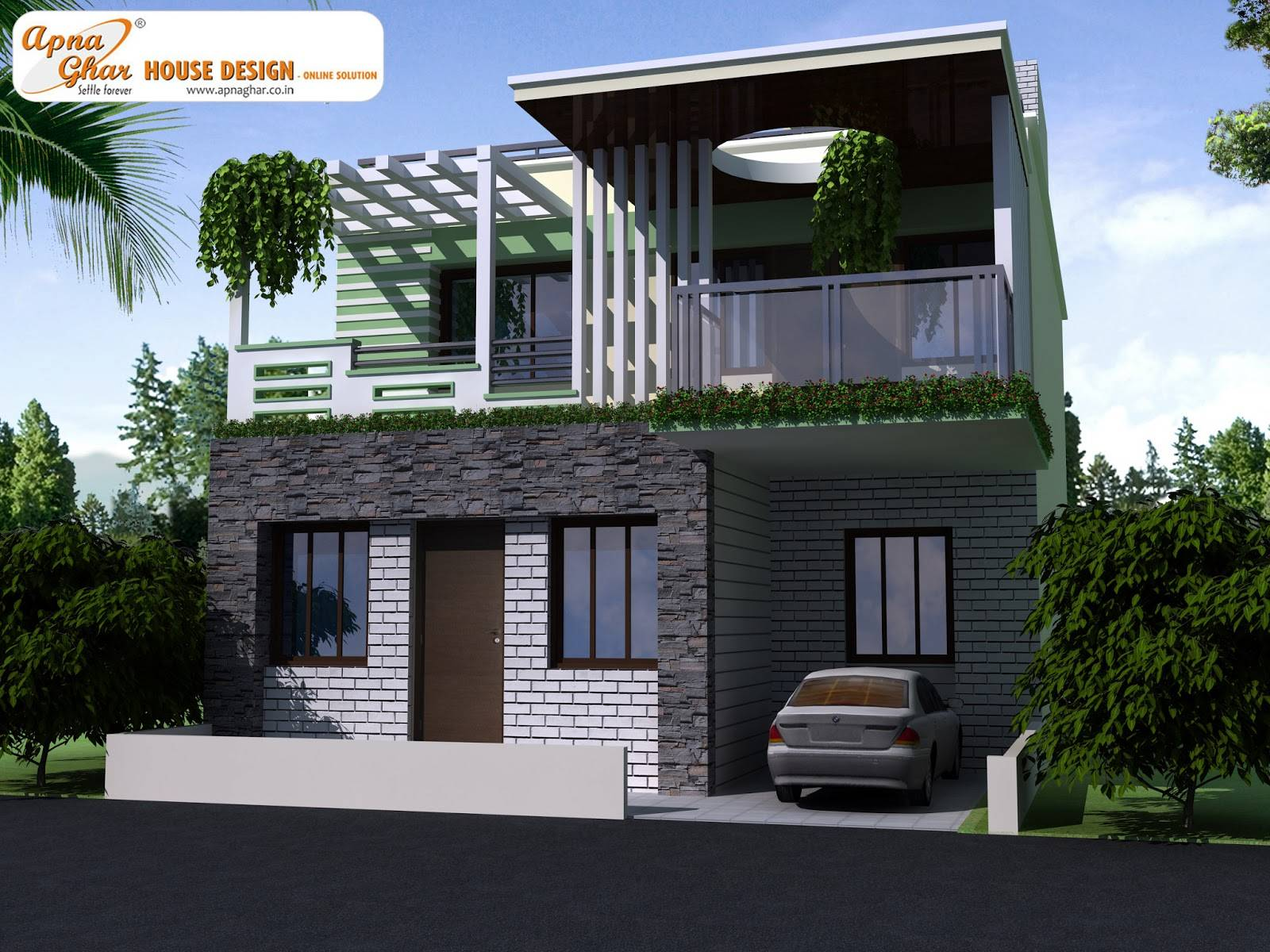 Decosee Modern Beautiful Duplex House Design Home Plans Blueprints 22289,White Ikea Bed Frame With Drawers