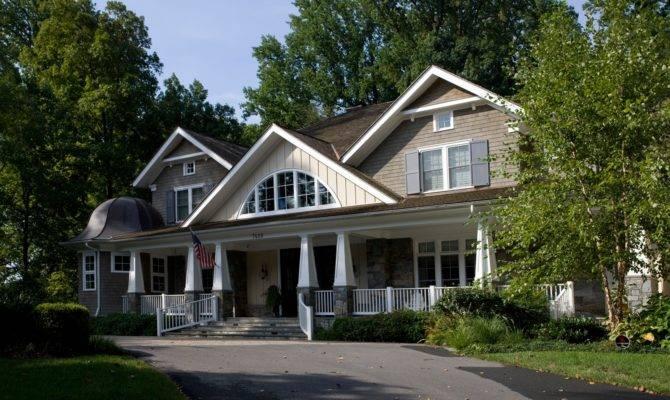 Defines Luxury Craftsman Style Home Sandy Spring